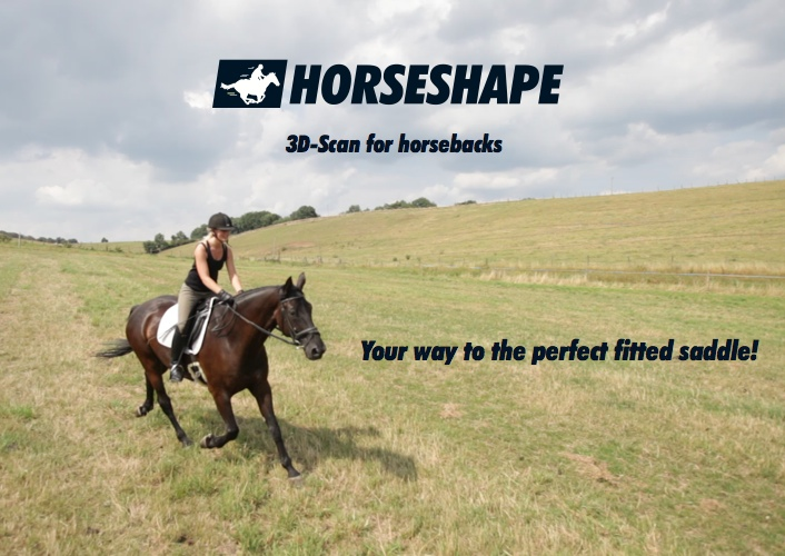 HORSESHAPE: 3D-Scan for horsebacks. Your way to the perfect fitted saddle!