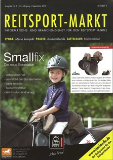 Horseshape in der Reitsport-Markt 09/2012