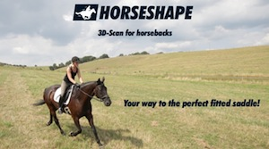 Idea: 3D-Scan for horsebacks - Your way to the perfect fitted saddle
